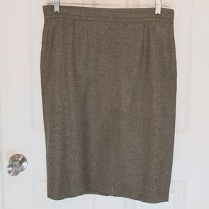 Kate Hill Sz14 WoolMark Angora Skirt EUC